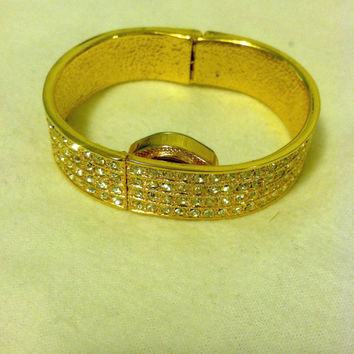 Gold-like Watch Bangle