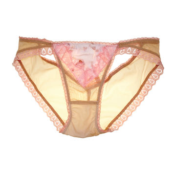 Claire Cross Back Luxe Panty in Ballet Flora ✨SOLD OUT✨