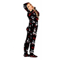 Buy KISS Dr. Love Drop Seat Onesuits | World's Best Pajama's