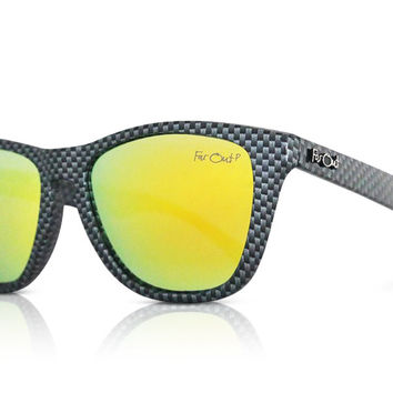 Carbon Fiber Polarized Yellow Lens