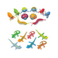 Melissa & Doug Sunny Patch Lizards & Bugs Bundle (Natural)