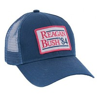 Reagan Bush '84 Mesh Back Hat in Navy by Rowdy Gentleman