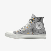 The Converse Custom Chuck Taylor All Star Marble High Top Shoe.
