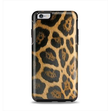 The Real Thin Vector Leopard Print Apple iPhone 6 Plus Otterbox Symmetry Case Skin Set