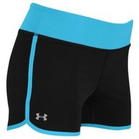 Under Armour Heatgear Fly-By Compression Run Short - Women's at Lady Foot Locker