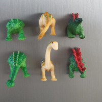 Butt Magnets of Dinosaurs, Gag Gift, Humor Magnets, Funny Kitchen Decor, Wild Animal Butts, Magnet Set of 6, Housewarming Gift