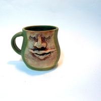 Sleepy Face Mug