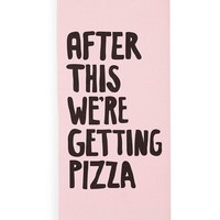 After This We're Getting Pizza Yoga Exercise Mat by Bando