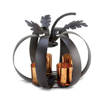 Modern Pumpkin Tealight Candle Holder