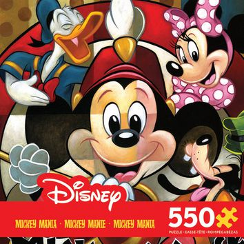 Disney Mickey Mania - Leader of the Club - 550 Piece Jigsaw Puzzle