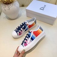 D i o r   Women Casual Shoes Boots  fashionable casual leather