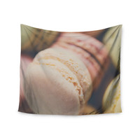 "Laura Evans ""Macaroon Goodness"" Pastel Food Wall Tapestry"