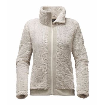 Women's Furry Fleece Full Zip Jacket in Rainy Day Ivory by The North Face
