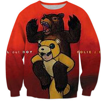 Fall Out Boy Folie A Delux Crewneck