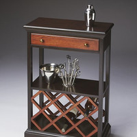 Butler Specialty Transitional Cherry Wine Rack - 2131109