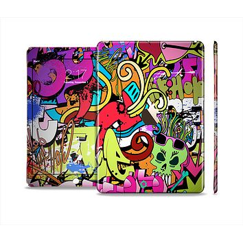 The Vibrant Colored Vector Graffiti Skin Set for the Apple iPad Air 2
