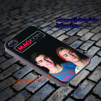Magcon Tour iPhone 5/5S/5C/4/4S, Samsung Galaxy S3/S4, iPod Touch 4/5, htc One X/x+/S
