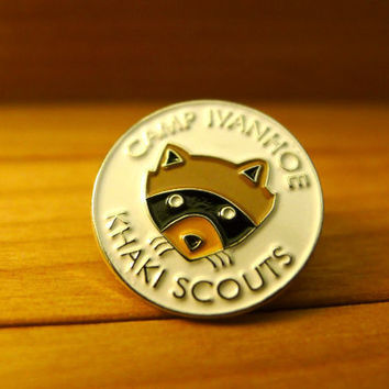 Moonrise Kingdom Khaki Scout Lapel Pin by SteveZissou on Etsy