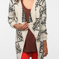 Staring At Stars Reversible Intarsia Knit Cardigan