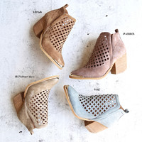 lost valley cutout ankle bootie - more colors