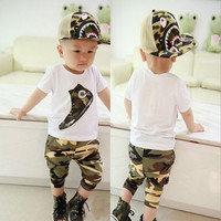 Camouflage Baby Boy Clothing Set