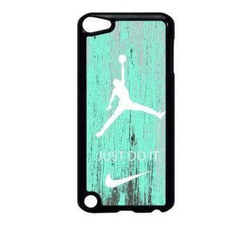 DCCKHD9 Nike Jordan Mint Wood iPod Touch 5 Case