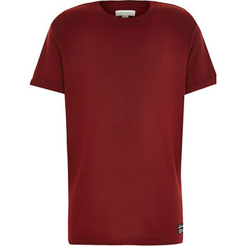 River Island Boys red short sleeve t-shirt