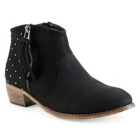 Studded Ankle Bootie