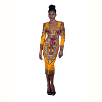 Exotic Back Out Midi Dress