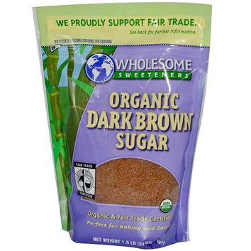 Wholesome Sweetners Dark Brown Sugar ( 6x24 Oz)
