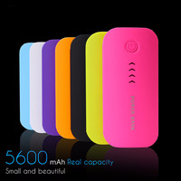 Feather Shape 5600mAh Power Bank Portable Charger