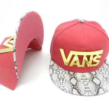 VANS Women Men Embroidery Sports Sun Hat Hip Hop Baseball Cap Hat-4