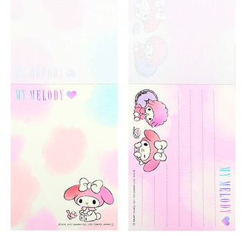 Buy Sanrio My Melody & My Sweet Piano Mini Memo Pad at ARTBOX