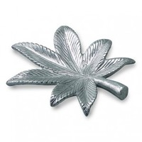 Metal Leaf Ashtray - Filling and Rolling Systems - Rolling Accessories - Grasscity.com