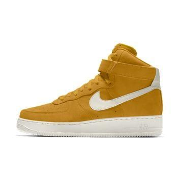 The Nike Air Force 1 High Premium iD Shoe.