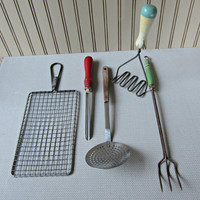 5 Vintage Kitchen Tools Utensils Gadgets