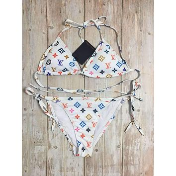 Louis Vuitton LV One Piece Swimwear Bikini Set LOUI07