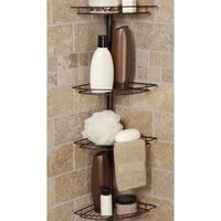 Zenith Tub and Shower Tension Pole Caddy | www.hayneedle.com