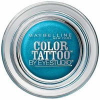 Maybelline EyeStudio Color Tattoo 24Hr Eyeshadow, Tenacious Teal