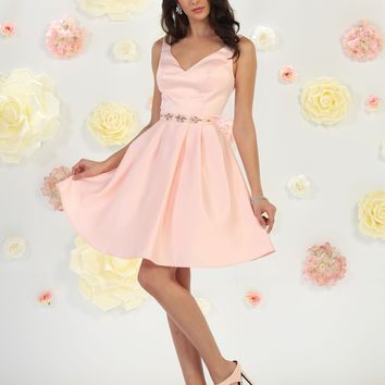 Short Bridesmaids Dress Homecoming Prom Cocktail Party
