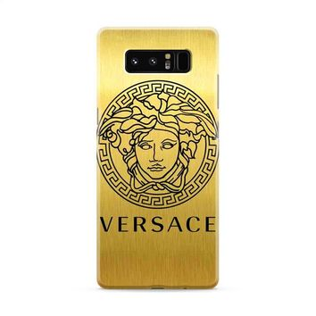 Versace Logo Gold Samsung Galaxy Note 8 Case