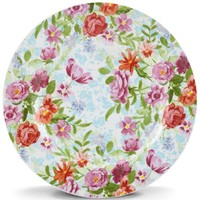 "Kathy Ireland Bouquet 8"" Salad Plate By Lenox"