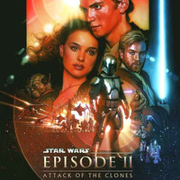 Star Wars Episode II Attack of the Clones Poster 11x17