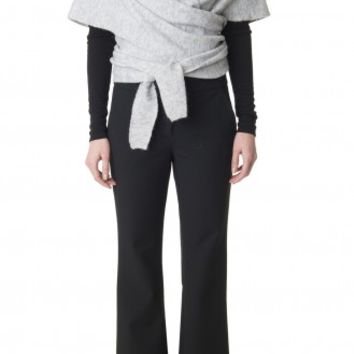 Tibi Knit Convertible Shawl