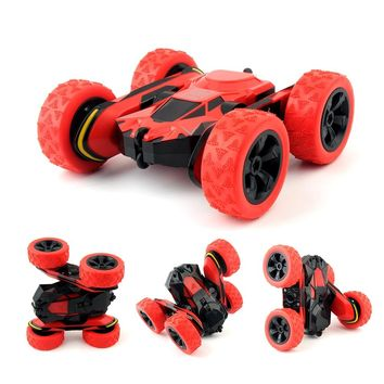 HB 1/28 RC Stunt Car 2.4Ghz RC Car Remote Control, Off Road Electric Race Double Sided 360 rc car toys for children Gift