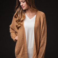 Inspired Moments Camel Sweater