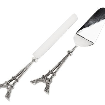 Eiffel Tower Cake Knife/Server
