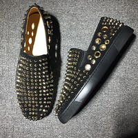 Cl Christian Louboutin Flat Style #729 - Best Deal Online