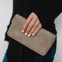 The Basics Wallet - Taupe