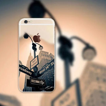 Streetlamp iPhone 5 5S iPhone 6 6S Plus Case + Gift Box-126